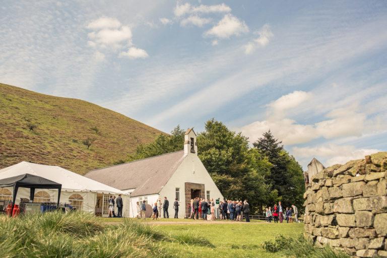 Cuddystone Hall wedding venue set in the Northumberland countryside