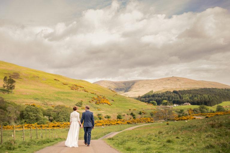 Julia and Craig at their Cuddystone Hall wedding