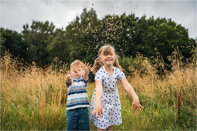 Natural and relaxed North East family photography